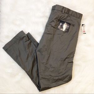 Cremieux gray the office pant straight fit 38x30